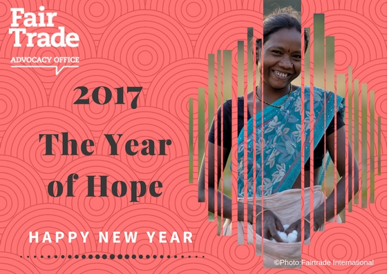 """We have decided to call 2017 """"The Year of Hope"""""""